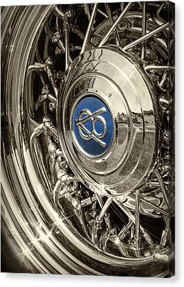 Hubcap Deluxe Canvas Print by Caitlyn  Grasso