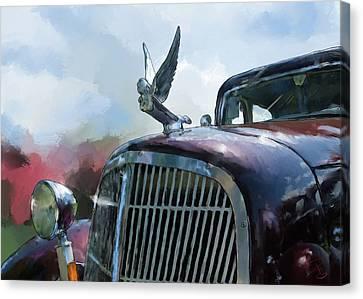 Hudson Canvas Print by Debra Baldwin