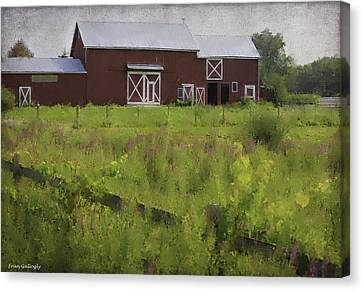 Hudson Valley Barn Canvas Print
