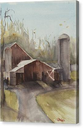 Canvas Print - Hudson Valley Farm by Lynne Bolwell