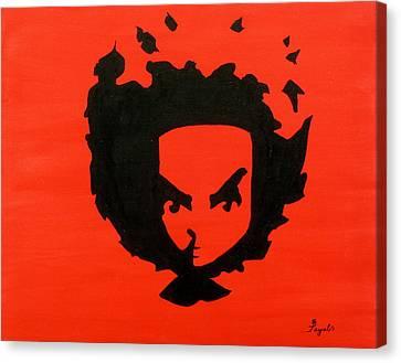 Huey Canvas Print