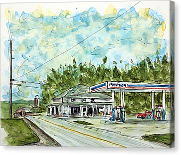 Huff's Market Canvas Print by Tim Ross