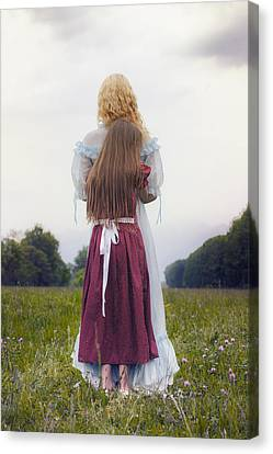 Hugging Canvas Print by Joana Kruse