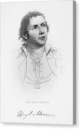 Hugh Mercer (1726-1777) Canvas Print by Granger