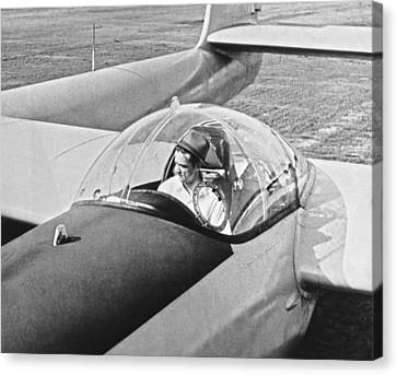 Hughes New Fx-11 Plane Canvas Print by Underwood Archives