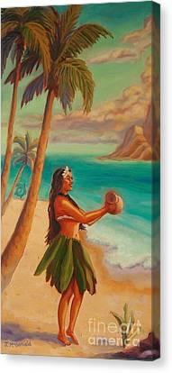 Hula Aloha Canvas Print