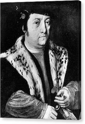 Huldreich Zwingli (1484-1531) Canvas Print by Granger