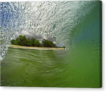 Hulk Wave Canvas Print by Brad Scott