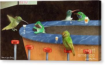 Hum A Few Bars... Canvas Print by Will Bullas