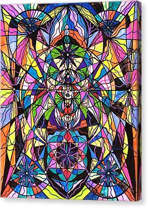 Human Ascension Canvas Print