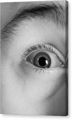 Human Eye, Infrared Image Canvas Print by Science Photo Library