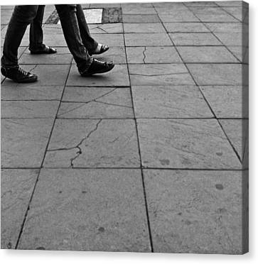 Human Love Canvas Print by Lucy D