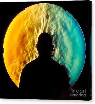 Schlieren Canvas Print - Human Thermal Plume by Gary S. Settles & Jason Listak