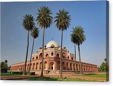 Humayun's Tomb, Delhi, India Canvas Print by Adam Jones