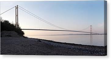 Humber Bridge Panorama Canvas Print