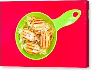 Humbug Sweets Canvas Print by Tom Gowanlock