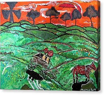 Humid Summer Canvas Print by Matthew  James