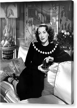 Humoresque, Joan Crawford, In A Dress Canvas Print by Everett