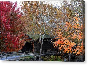 Humpback Bridge Canvas Print by Cathy Shiflett