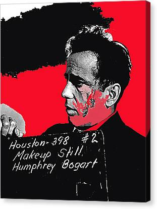 Humphrey Bogart The Maltese Falcon Makeup Photo Canvas Print by David Lee Guss