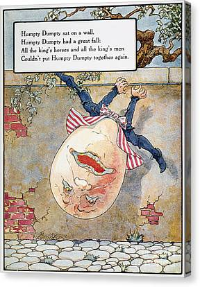 Mother Goose Canvas Print - Humpty Dumpty, 1915 by Granger