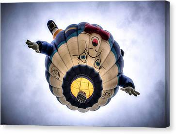 Humpty Dumpty Hot Air Balloon Canvas Print