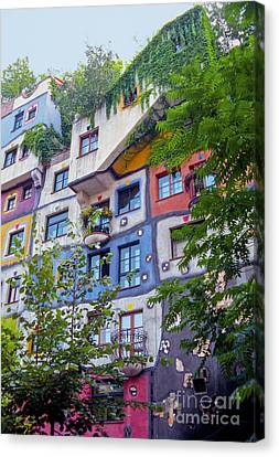 Hundertwasserhaus  Canvas Print
