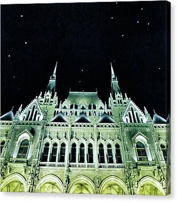 Hungarian Parliament Building - Budapest Canvas Print