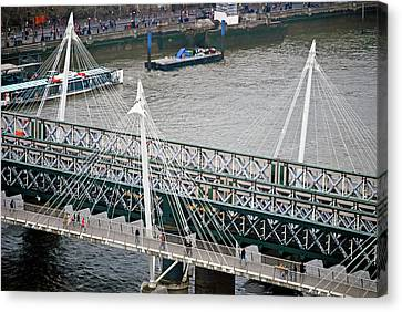 Hungerford Bridge Canvas Print