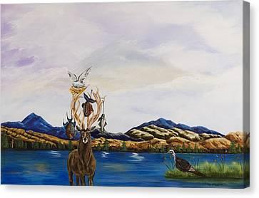 Hunters Karma Canvas Print by Susan Culver