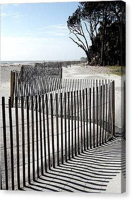 Canvas Print featuring the photograph Hunting Island - 6 by Ellen Tully