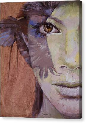 Goth Canvas Print - Huntress by Michael Creese