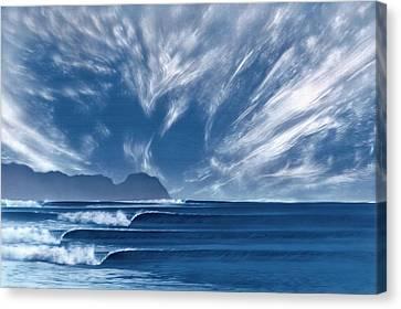 Hurricane Point Canvas Print