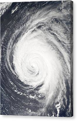 Hurricane Canvas Print by Unknown