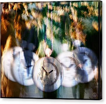 Hurry Hurry Canvas Print by Gun Legler