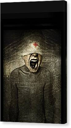 Hurt Canvas Print by Johan Lilja