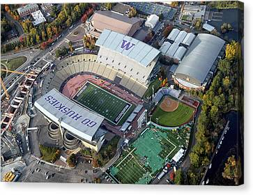 Husky Stadium Canvas Print
