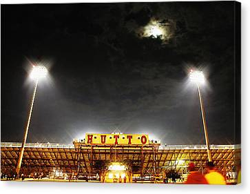 Hutto Hippo Stadium Canvas Print by Trish Mistric