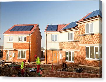 Hutton Rise Housing Development Canvas Print
