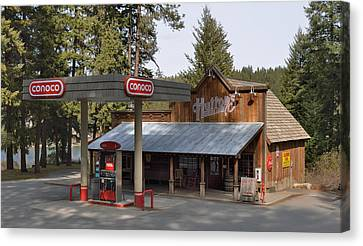 Huttons General Store Canvas Print