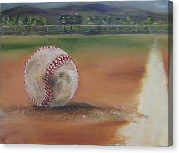 Hw Field Canvas Print by Lindsay Frost