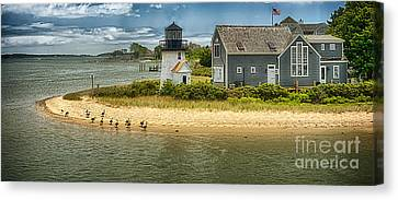 Hyannis Lite Hdr Canvas Print by Jack Torcello