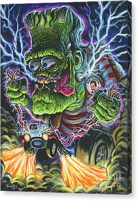 Hybrid Fink Canvas Print by Mark Tavares
