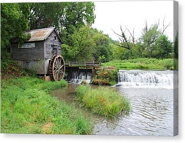 Hyde Mill Canvas Print by John Kunze