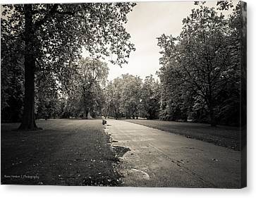 Hyde Park - For Eugene Atget Canvas Print