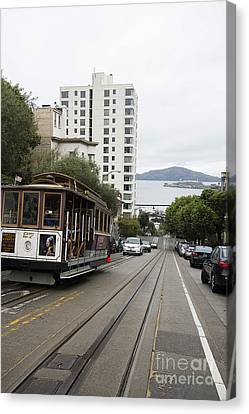 Hyde Street Cable Car Canvas Print