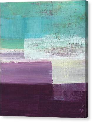 Hydrangea- Abstract Painting Canvas Print