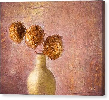 Cape Cod Canvas Print - Hydrangea by Michael Petrizzo