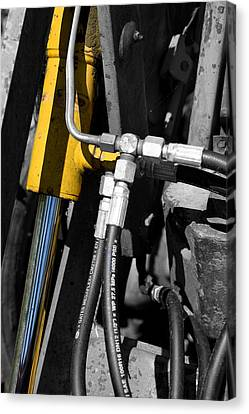 Hydraulic Muscle Canvas Print by Paul Lilley