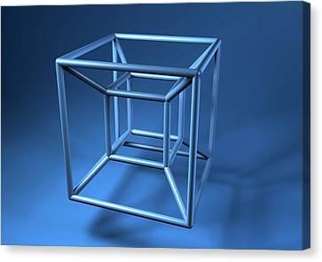 Hypercube Canvas Print by Equinox Graphics
